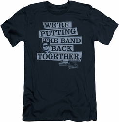 Blues Brothers slim-fit t-shirt Band Back mens navy