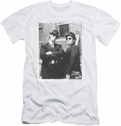 Blues Brothers slim-fit t-shirt Brick Wall mens white