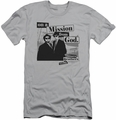Blues Brothers slim-fit t-shirt Mission mens silver