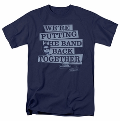 Blues Brothers t-shirt Band Back mens navy