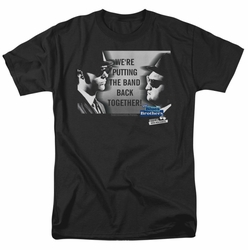 Blues Brothers t-shirt Band mens black