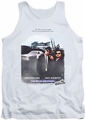 Blues Brothers tank top Distressed Poster mens white