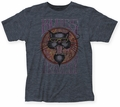 Blues Traveler Poster fitted jersey tee heather navy mens pre-order