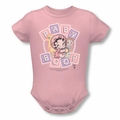 Betty Boop snapsuit Baby Boop & Friends pink