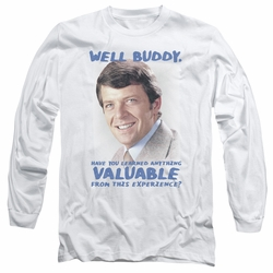 Brady Bunch adult long-sleeved shirt Buddy white
