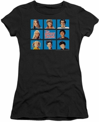 Brady Bunch juniors t-shirt Framed black