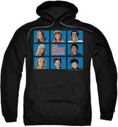 Brady Bunch pull-over hoodie Framed adult black