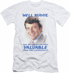 Brady Bunch slim-fit t-shirt Buddy mens white
