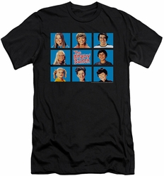 Brady Bunch slim-fit t-shirt Framed mens black