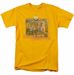 Brady Bunch t-shirt Have A Very Brady Day! mens gold