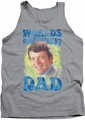 Brady Bunch tank top Worlds Grooviest mens athletic heather
