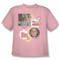 Brady Bunch youth teen t-shirt Oh, My Nose! pink