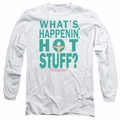 Breakfast Club adult long-sleeved shirt Whats Happenin white