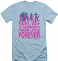 Breakfast Club slim-fit t-shirt Forever mens light blue