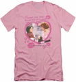 Breakfast Club slim-fit t-shirt Lipstick mens pink