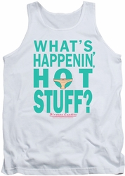 Breakfast Club tank top Whats Happenin mens white