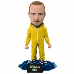 Breaking Bad Jesse Pinkman in Yellow Jumpsuit Bobblehead