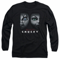 Bride Of Chucky adult long-sleeved shirt Happy Couple black