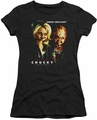Bride of Chucky juniors t-shirt Chucky Gets Lucky black