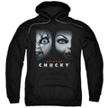 Bride of Chucky pull-over hoodie Happy Couple adult black