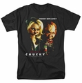 Bride Of Chucky t-shirt Chucky Gets Lucky mens black