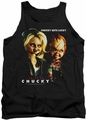 Bride Of Chucky tank top Chucky Gets Lucky mens black