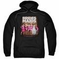 Bridesmaids pull-over hoodie Poster adult black