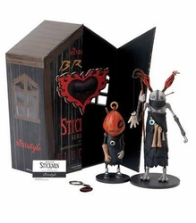 Brom's Stickmen Series 1 Set B Guru and Pumpkin by MINDstyle
