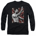 Bruce Lee adult long-sleeved shirt Concentrate black