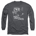 Bruce Lee adult long-sleeved shirt No Way As A Way charcoal