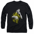 Bruce Lee adult long-sleeved shirt Suit Of Death black