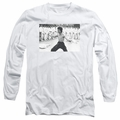 Bruce Lee adult long-sleeved shirt Triumphant white