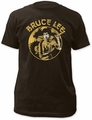 Bruce Lee Circle Dragon Fitted Jersey t-shirt