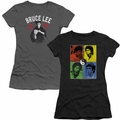 Bruce Lee juniors and womens t-shirts and tank tops