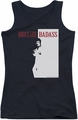 Bruce Lee juniors tank top Badass black