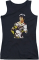 Bruce Lee juniors tank top Body Of Action black
