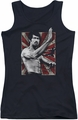 Bruce Lee juniors tank top Concentrate black