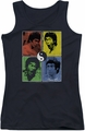 Bruce Lee juniors tank top Enter Color Block black