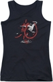 Bruce Lee juniors tank top High Flying black