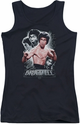 Bruce Lee juniors tank top Inner Fury black