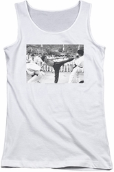 Bruce Lee juniors tank top Kick To The Head white
