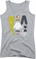 Bruce Lee juniors tank top Lee Gift Set athletic heather