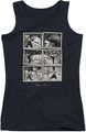 Bruce Lee juniors tank top Snap Shots black