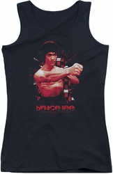 Bruce Lee juniors tank top The Shattering Fist black