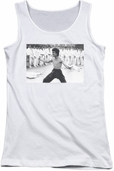 Bruce Lee juniors tank top Triumphant white