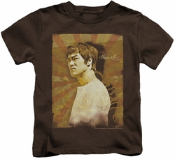 Bruce Lee kids t-shirt Anger coffee