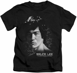 Bruce Lee kids t-shirt In Your Face black