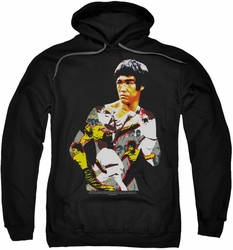 Bruce Lee pull-over hoodie Body Of Action adult black