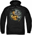 Bruce Lee pull-over hoodie Expectations adult black