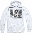 Bruce Lee pull-over hoodie Full Of Fury adult white